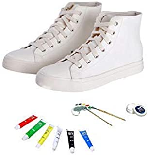 mY DESIGN DIY Painting Shoes for Kids or Teens 6 Matching Painting Colors - Made in USA
