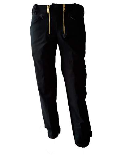 Generisch Zunfthose schwarz Zimmermannshose Doppelpilot Zunft Hose Dachdeckerhose Bundhose Herren Arbeitshose Dachdecker (64)