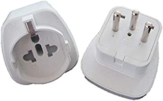 GOUWEI Travel Adapter Israel to US/Italy/Brazil/Schuko Universal Electric Plug Adapter 250V 10A