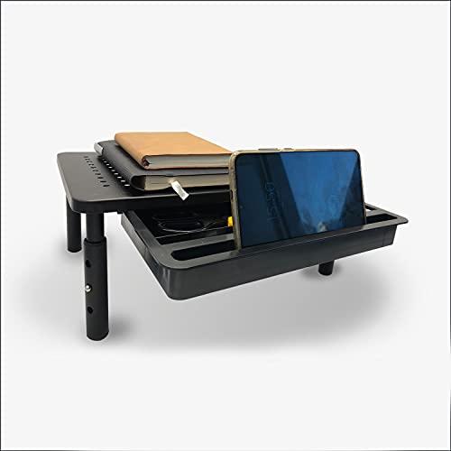 EQUAL Adjustable Computer Monitor Riser Desk Stand w/ Drawer