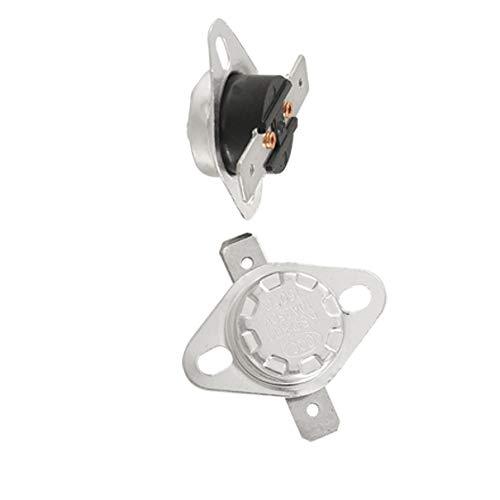 Aexit 2 Pcs Termostato de interruptor de temperatura controlada 150 grados (model: F3272VIX-7997GK) Celsius N.C KSD301