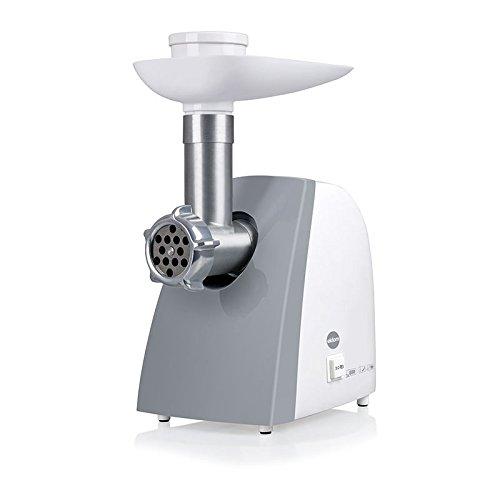 eldom M200Z Picadora de Carne Eléctrica, Máquina Picadora De Carne con 3 Placas de Molienda, Embutidora de Salchichas, Función inversa, Accesorio para trocear, Picar y Cortar