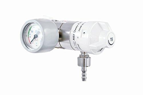 AeroWay Fast-15 Druckminderer für Sauerstoffflaschen mit medizinischem Sauerstoff