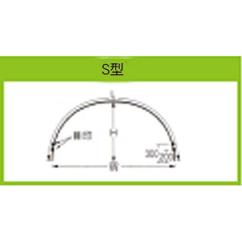 トンネル支柱 7S-7x口径11mm×高さ75cmx幅120cm×長さ210cm 50本