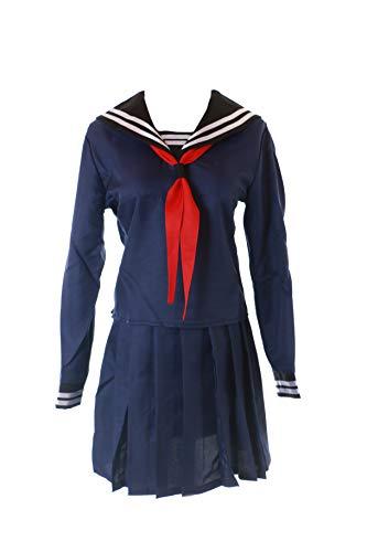 Kawaii-Story MN-68 Fate Zero Saber Blau Sailor Matrosen 3-TLG. Set Anzug Schuluniform Kostüm Manga Anime Cosplay (M)