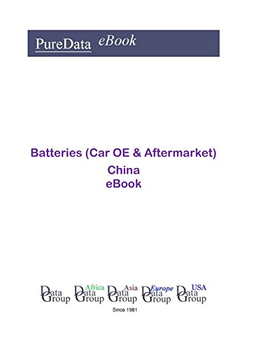 Batteries (Car OE & Aftermarket) China: Market Sales in China (English Edition)