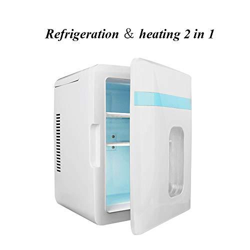 Tragbare 12L Auto Kühlschrank Gefrierschrank Kühler, elektrische Kühlbox ideal für Reisen, Camping, Car Home 240V AC & 12V DC