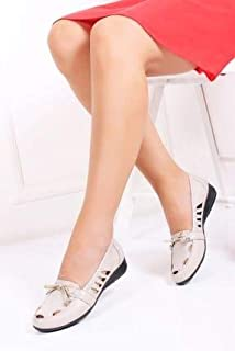 TARÇIN Hakiki Deri Günlük Kadın Ayakkabı TRC119-2021