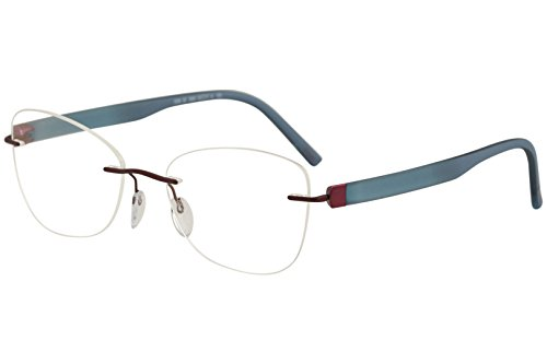 Silhouette Eyeglasses Inspire Chassis 5506 3040 Rimless Optical Frame 21x145mm