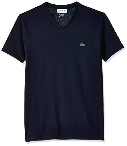 Lacoste TH6710 T-Shirt, Marine, S Uomo