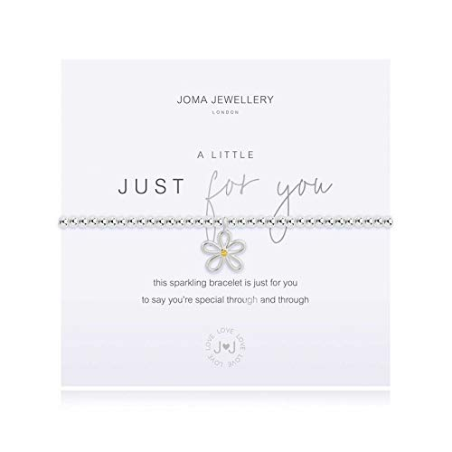 Joma Jewellery A Little | JUST for You | Silver | Bracelet | 17.5cm Stretch