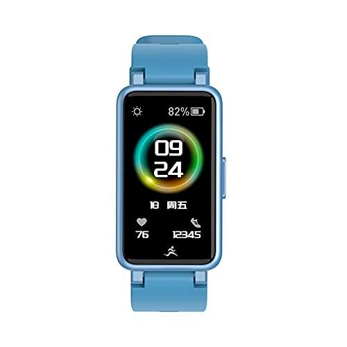 Balems Fitness Tracker, Pulsera Inteligente IP67 Impermeable IPS Touch Screen Smartwatch con Frecuencia Cardíaca Oxígeno en Sangre Presión Arterial Calorías Monitor de Sueño