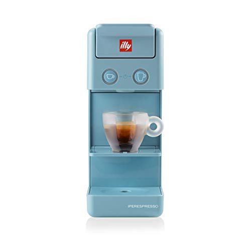 illy Cafetera de cápsulas Iperespresso Y3.3 azul Amalfi