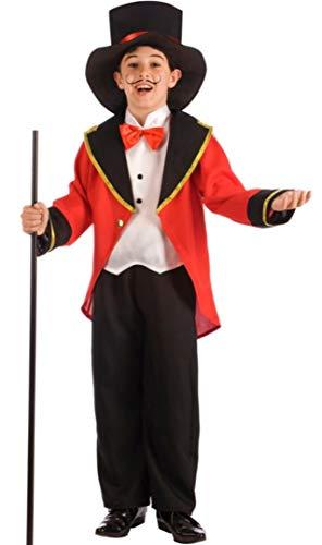 El Rey del Carnaval Disfraz de Presentador de Circo para nio