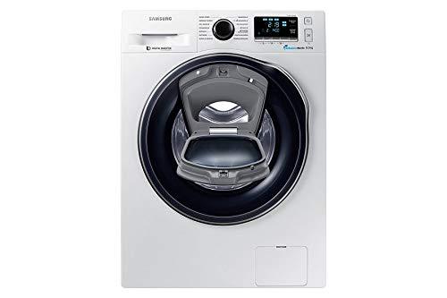 Samsung WW80K6404QW/EG Waschmaschine FL/A+++/116 kWh/Jahr/1400 UpM/8 kg/Add Wash/WiFi Smart Control/Super Speed Wash/Digital Inverter Motor