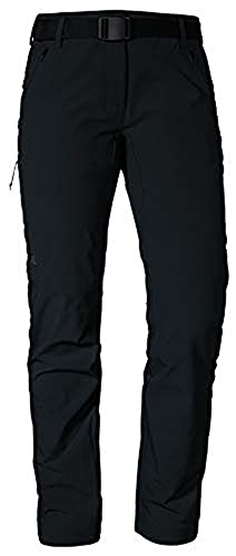 Schöffel Damen Pants Taibun L Wanderhose, black, 38
