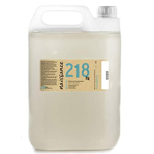 Naissance Kokosöl fraktioniert (Nr. 218) 5 Liter (5000ml) 100{20e9c51ec5ae8ef295a5fb4e484b00960323cdbfd79b57740c2dd38aa0611d23} rein