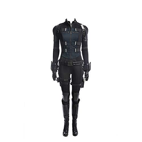 Womens Black Halloween Costume Widow