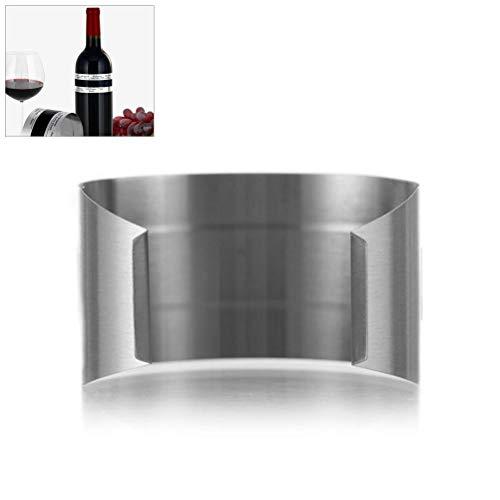 Kylewo Weinthermometer: Weinflaschenthermometer, Thermometer für Weinflaschen, Edelstahl-Thermometer für das Armband