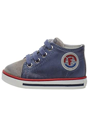 Falcotto Magic-Ledersneaker-Hellblau azurblau 25