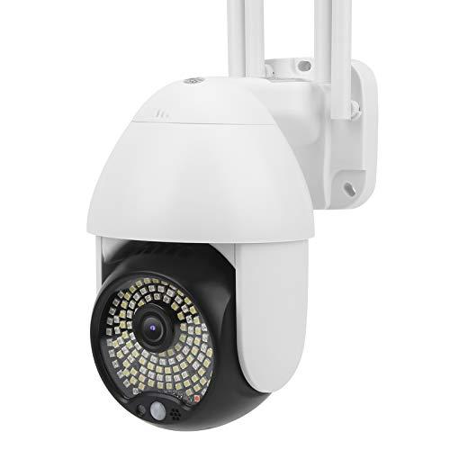 FOLOSAFENAR Seguimiento automático de la cámara Domo 1080P HD de la cámara PTZ Impermeable, para la Seguridad en el hogar(European regulations)