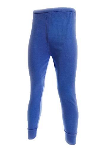 Sous-vêtement thermique - caleçon long et chaud pour hommes - Bleu - Taille 7 (XXL)