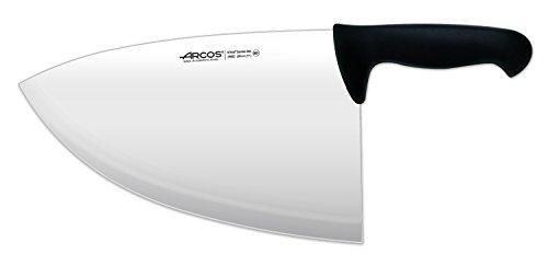 Arcos Serie 2900, Filetera, Hoja de Acero Inoxidable Nitrum de 280 mm, Mango inyectado en Polipropileno Color Negro