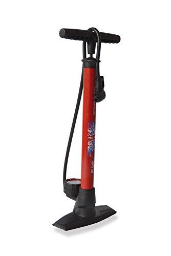 XLC Unisex– Erwachsene Luftpumpe und Standpumpe Delta PU-S04, Rot, unisize