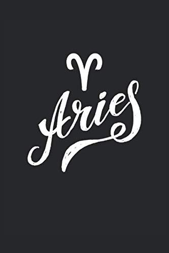 Aris: Livre de partitions 6x9 pouces avec 120 pages Zodiac Aris