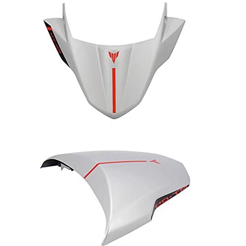 Durabilidad Parabrisas for MT09 MT09 FZ09 Accesorios de Motos Frontal del Parabrisas Flujo de Aire Deflector de Viento 2017 2018 2019 2020 Inoxidable (Color : Gray Kit)