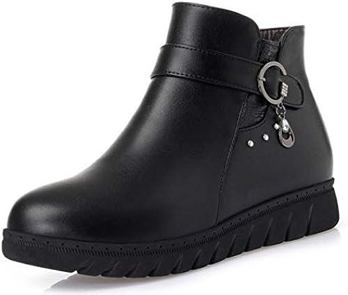 Shiney Damen Baumwolle Schuhe Warme Stiefel Shorts Shorts Shorts Wolle Flache Weißhe Untere Schuhe  kein Minimum