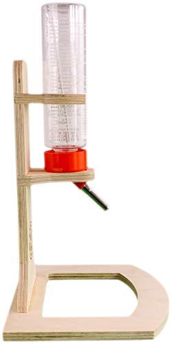 Getzoo Tränke aus Holz + Classic® Trinkflasche 150 ml - 3