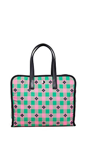 Kate Spade New York Women's Morley Large Tote, Bright Pink Multi, One Size