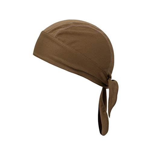 X-Labor – Gorra Unisex con Parasol, protección para la Nuca, Secado rápido, Bandana, pañuelo para la Cabeza, Ciclismo, Gorro de Verano, Caqui