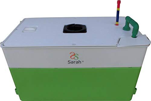 協和ハイポニカ 家庭用水耕栽培装置 ホームハイポニカ Sarah+(サラプラス) MJA082 液体肥料500ml×1、果菜用培地×4、栽培鉢×1、鉢カバー×1 グリーン