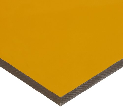 "PEI (Polyetherimide) Sheet, Opaque Natural, Standard Tolerance, ASTM D5205 PEI0113, 0.03"" Thickness, 12"" Width, 12"" Length"