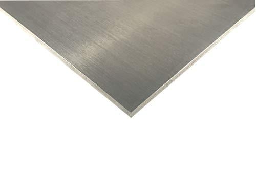 Chapa de aluminio AIMg de 1–3mm, corte a elegir, 1500x400x1mm, 1
