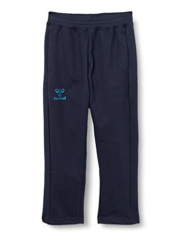 HUMMEL ACTION COTTON PANTS KIDS Sweatpants, Dark Sapphire/Blue Coral, 176