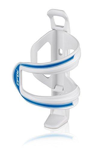 XLC Unisex– Erwachsene Zubehör Trinkflaschenhalter Sidecage BC-S06, Weiß, Blau, One Size
