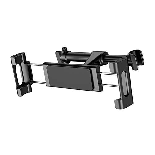 FSSQYLLX Soporte para Tableta Soporte de Aluminio para Tableta Soporte para automóvil Asiento Trasero Reposacabezas Soporte para teléfono con Tableta