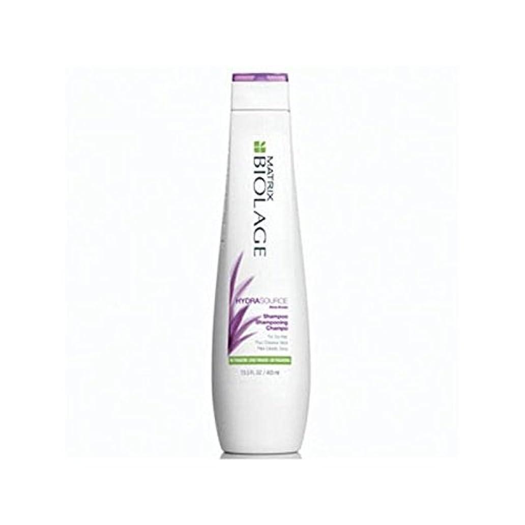 人物ひいきにするアトラスMatrix Biolage Hydrasource Shampoo (400ml) (Pack of 6) - マトリックスバイオレイジのシャンプー(400ミリリットル) x6 [並行輸入品]