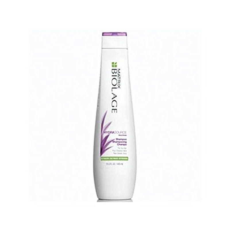 含意比較的プレミアMatrix Biolage Hydrasource Shampoo (400ml) (Pack of 6) - マトリックスバイオレイジのシャンプー(400ミリリットル) x6 [並行輸入品]
