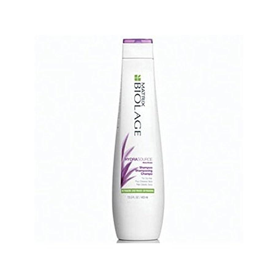 不名誉な死傷者傀儡マトリックスバイオレイジのシャンプー(400ミリリットル) x4 - Matrix Biolage Hydrasource Shampoo (400ml) (Pack of 4) [並行輸入品]