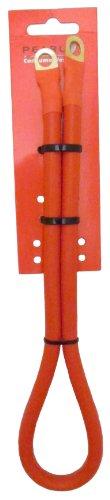 Pearl PES33C - Cable Aislado para batería (61 cm), Color Rojo