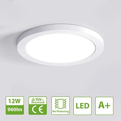 Oeegoo LED 12W lámpara de techo, Moderna LED luz de techo