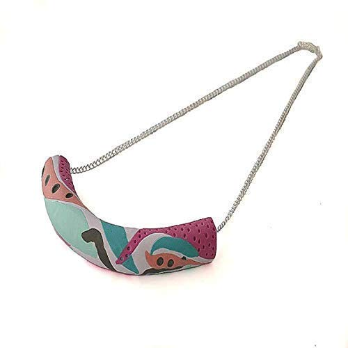 Statement Necklace for Women, Unique Bib Pendant, Jewellery Gifts for Her Under 15