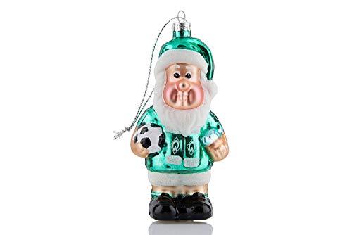 Werder Bremen tuin dwerg kerstbal kerstversiering