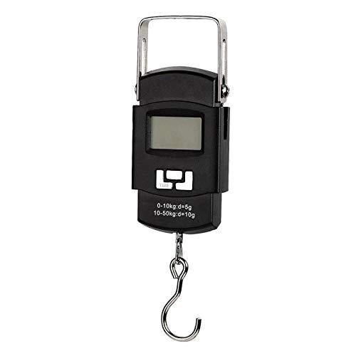 50kg / 10g draagbare digitale display handweegschaal koffer express pakket hangende weegschalen