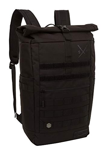 Samurai Tactical Ronin Day Backpack, Black