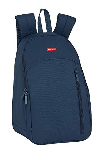 Safta Mochila Nevera Dark Blue, 230x180x360mm
